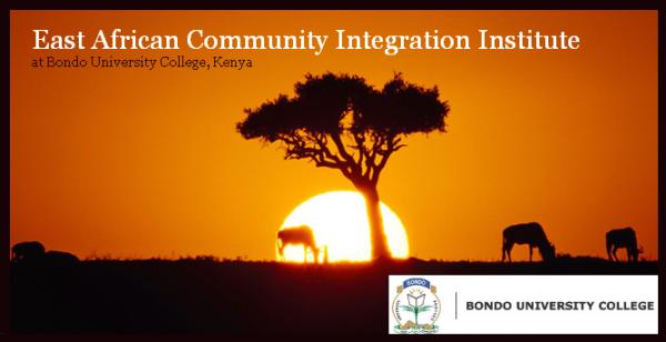 East African Community Integration Institute(EACII), Bondo University College
